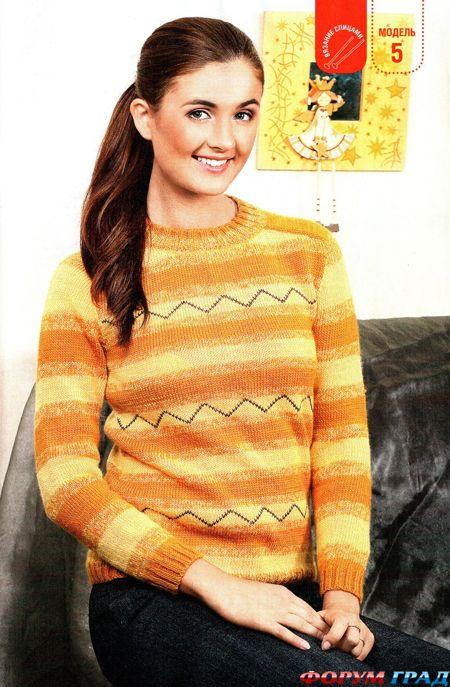 Выкройки женских свитеров