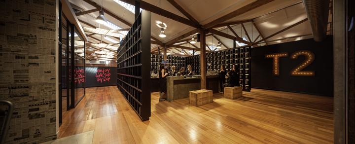 Штаб-квартира чайной компании T2 в Мельбурне