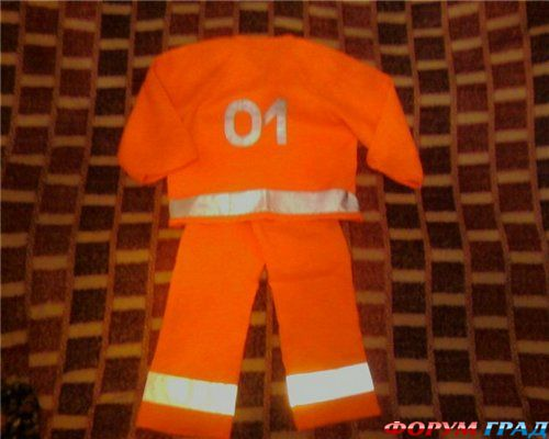 Костюм пожарника детский фото