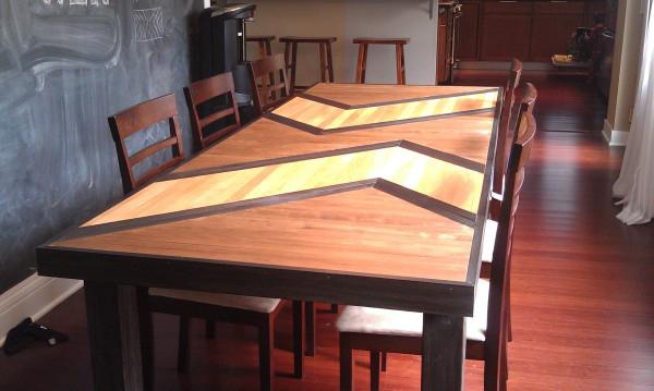 Ламинированный стол своими руками