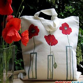 Вышитые сумки.  Вышивка - Вышивка - один из самых распространенных видов...