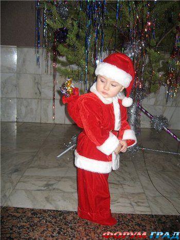 Новогодние костюм деда мороза своими руками