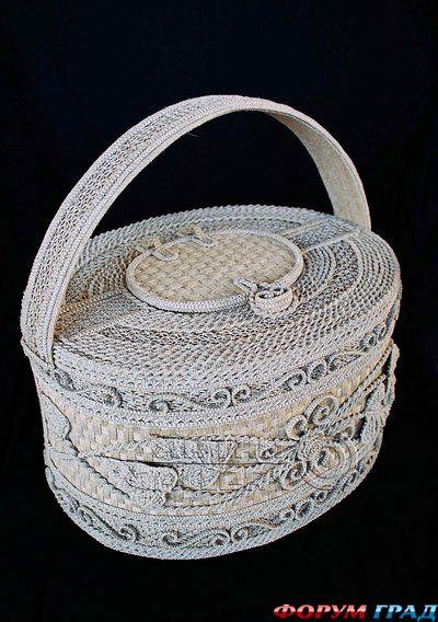 макраме схемы сумок - Сумки