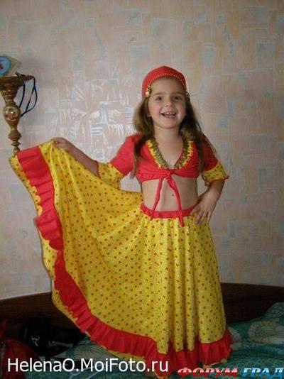 Юбка цыганская для девочки