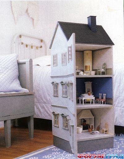 Кукольные домики из фанеры своими руками фото