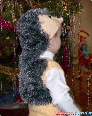 Костюм ежика для мальчика своими руками мастер