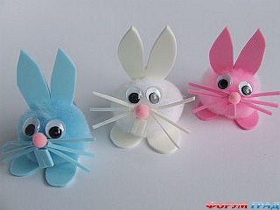 Поделки зайца своими руками
