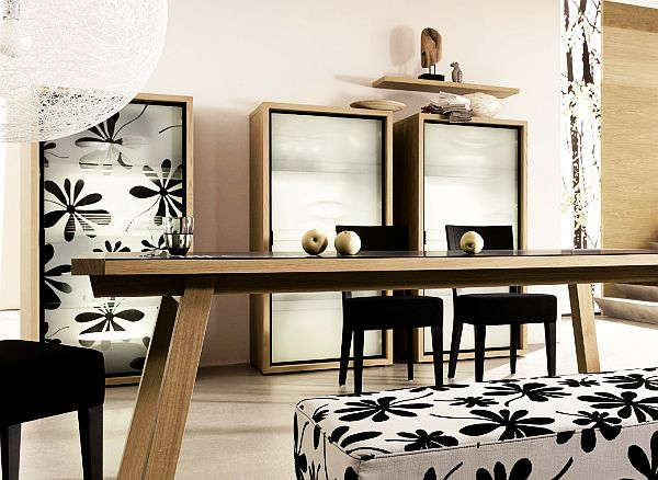 Дизайн современной столовой в доме