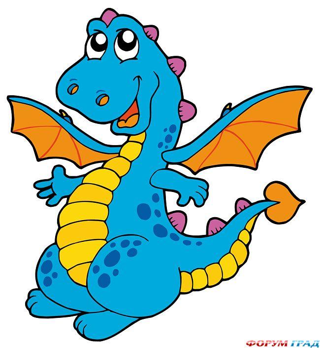 Рисунки дракончиков детей