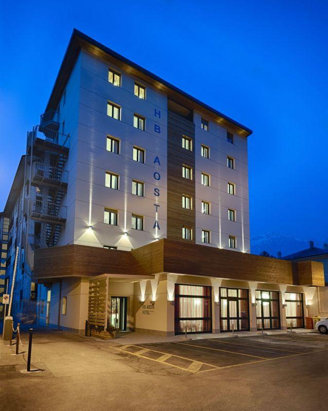 Дизайн интерьера отеля HB Aosta