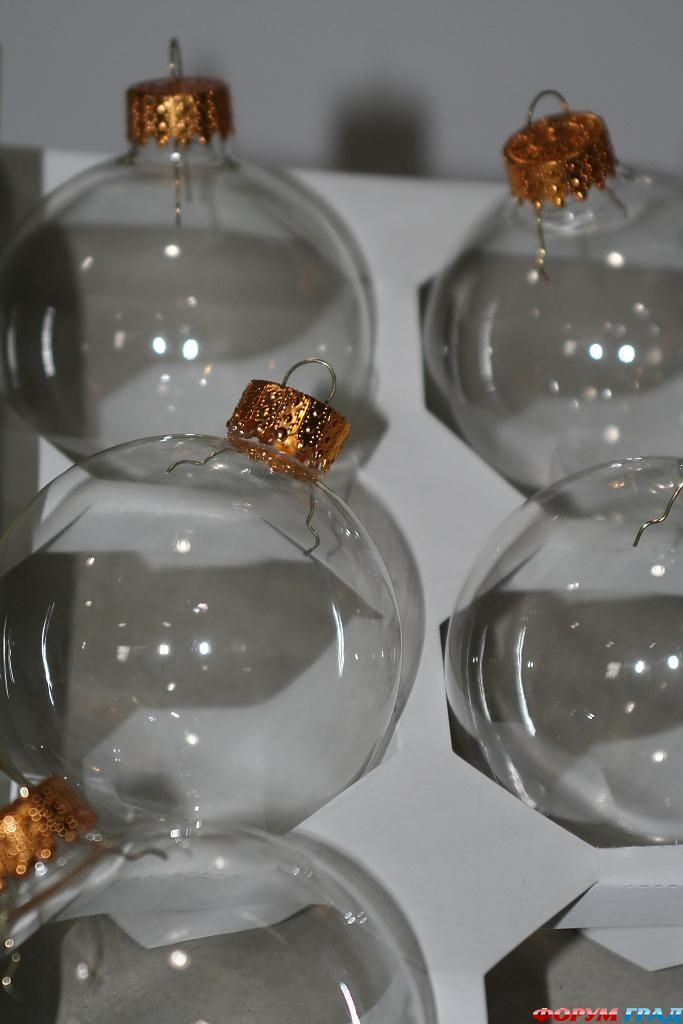 Своими руками стеклянные шары