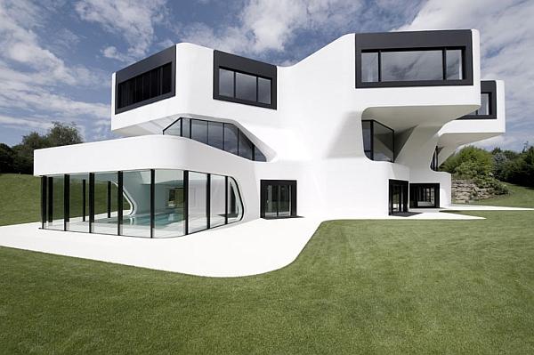 Роскошный современный загородный дом