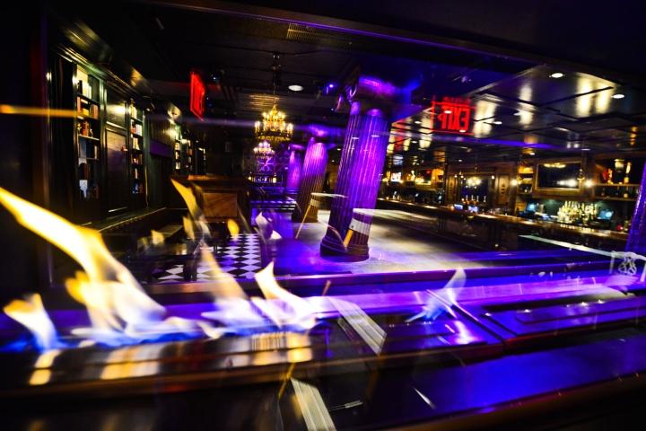 Экстравагантный ночной клуб Capitale в Вашингтоне