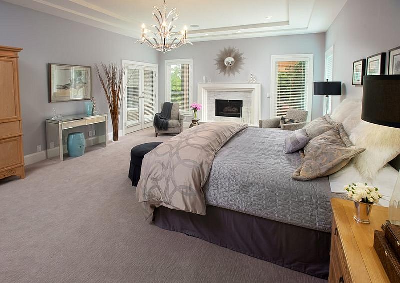 Садовые табуреты в восточном стиле в спальне