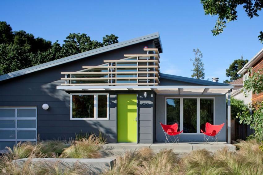 Современный коттедж Cloud Street House в калифорнийском стиле