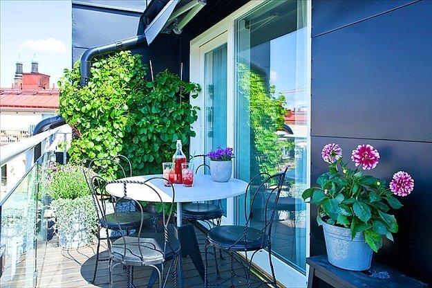 Дача на балконе: 7 шагов к загородному стилю /... / рукодели.