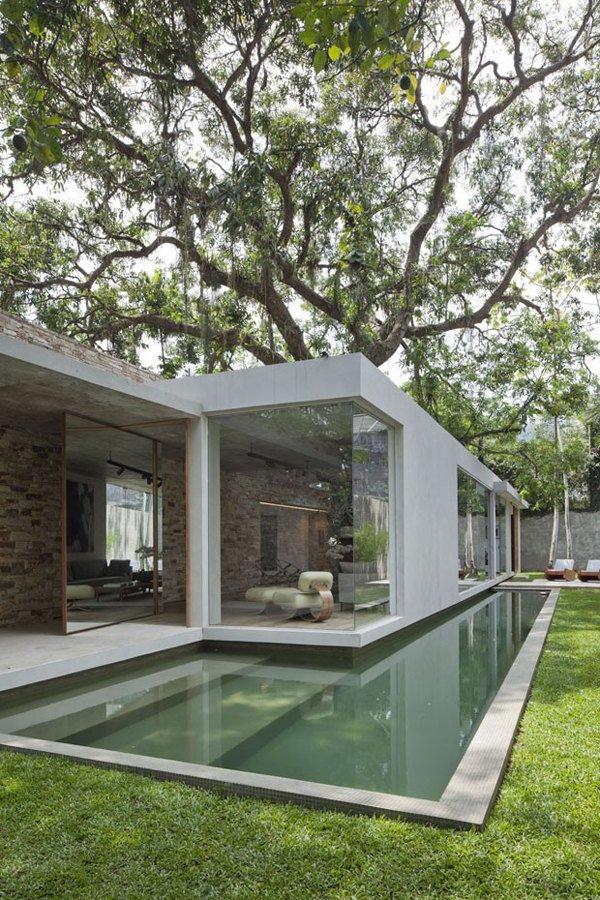 Дизайн роскошного дома мечты в минималистичном стиле