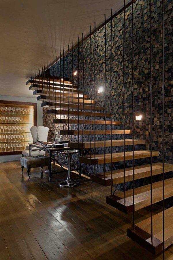 Лестница роскошного дома мечты