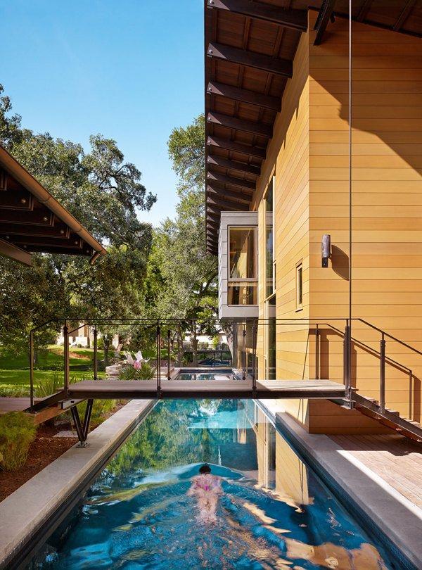 Дизайн роскошного дома мечты с бассейном