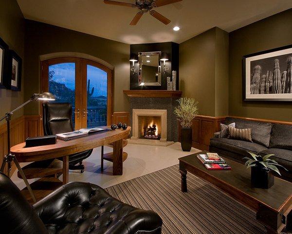 Интерьер гостиной роскошного дома мечты