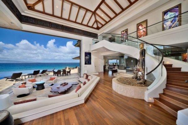 Терраса роскошного дома мечты