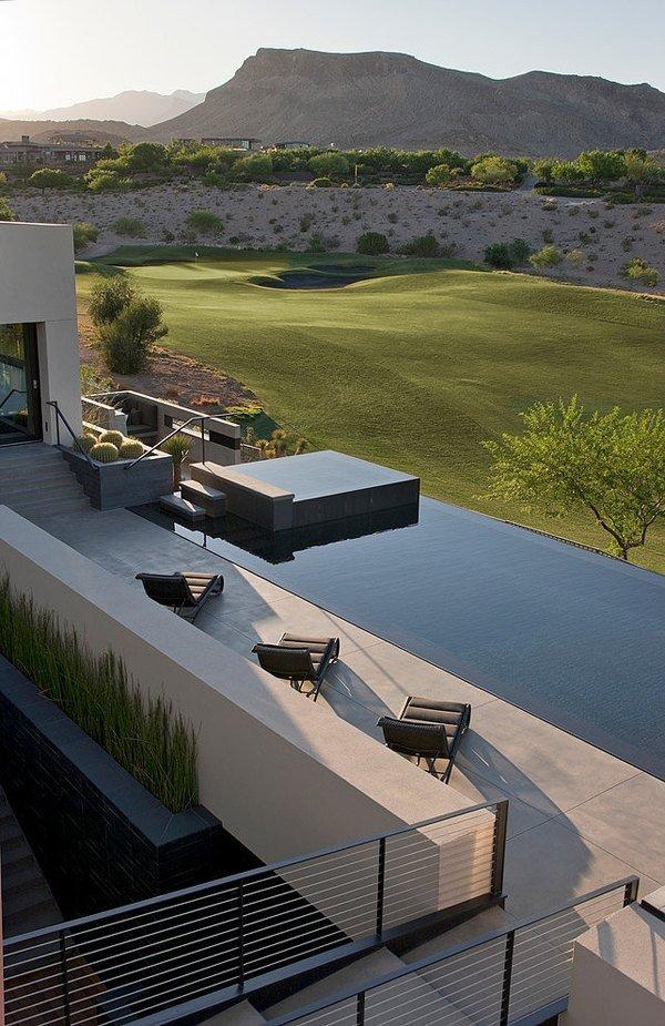 Дизайн роскошного дома мечты с видовым бассейном