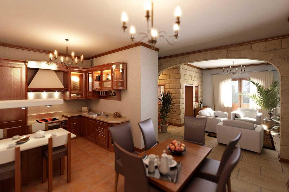 Дизайн студии на дому