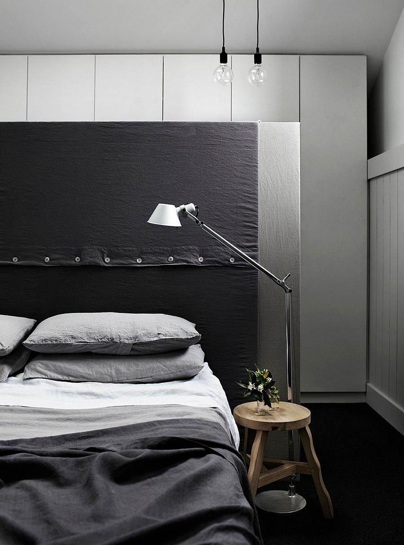 Спальня шикарного дома Edwardian Redbrick в Мельбурне