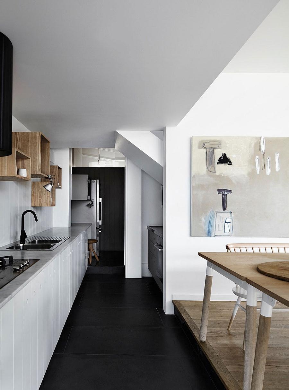 Кухня шикарного дома Edwardian Redbrick в Мельбурне