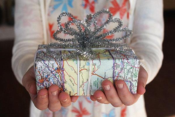 Как упаковать подарок чтобы было неожиданно
