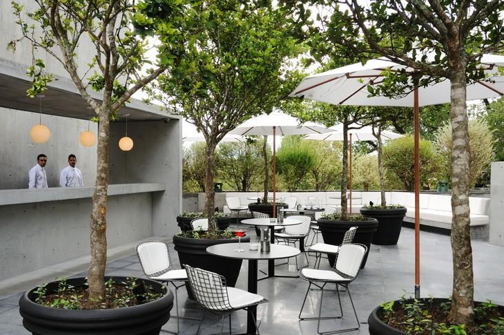 Ресторан отеля Hotel Habita MTY в Мексике