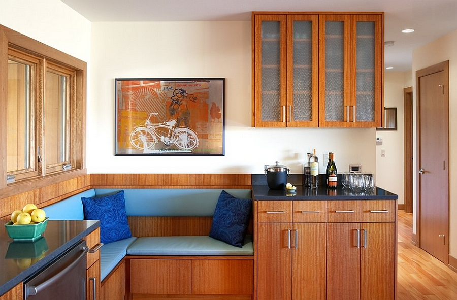 Кухня с мягким уголком дизайн