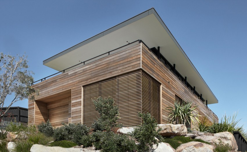 Дизайн загородного дома на побережье Нового Южного Уэльса