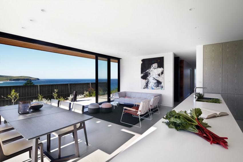 Столовая загородного дома на побережье Нового Южного Уэльса