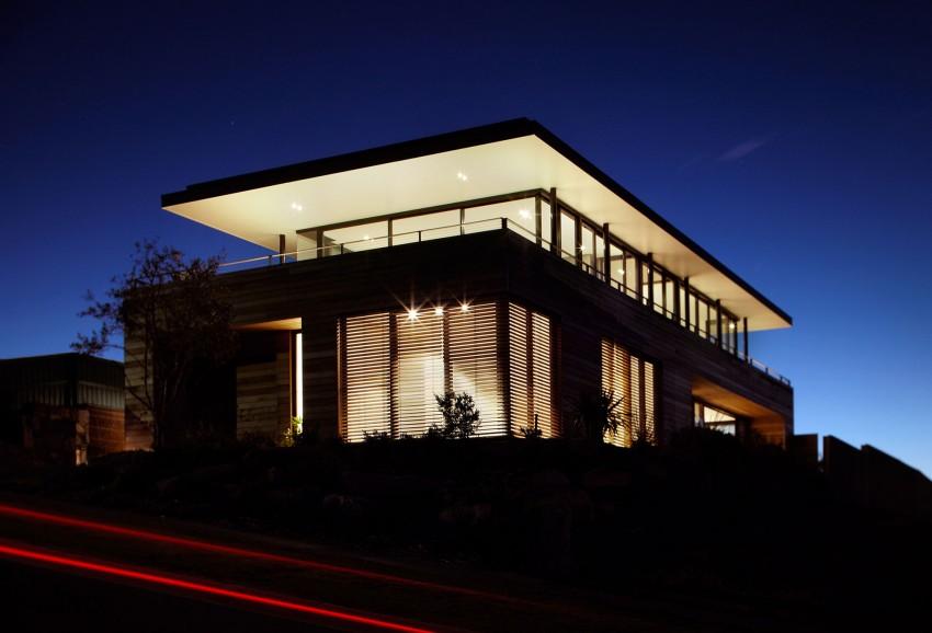 Дома из стекла и дерева: просторный австралийский особняк