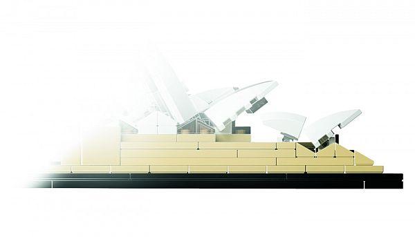 LEGO Architecture: Сиднейский оперный театр