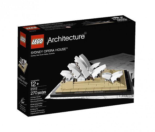 Конструктор LEGO Architecture в коробке
