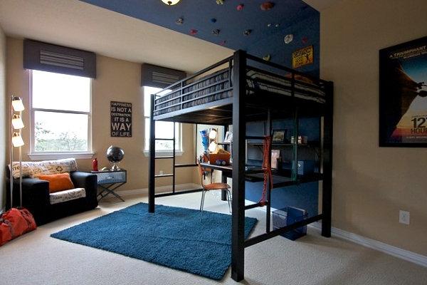 Teenage loft bedroom designs
