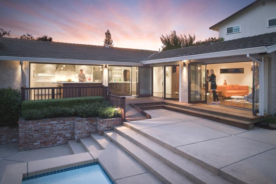 Усадьба в Калифорнии: полная современная реконструкция старого ранчо