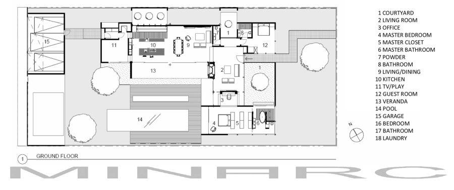 Новые технологии строительства частных домов: энергосберегающий коттедж в Венеции