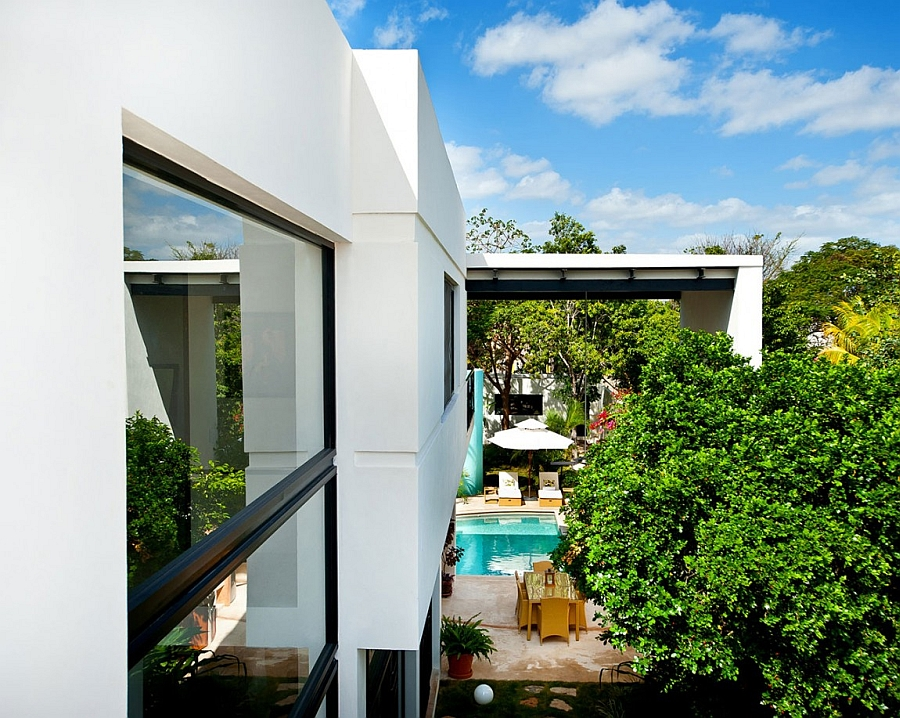 Дома с внутренним двориком: современный уют мексиканского особняка