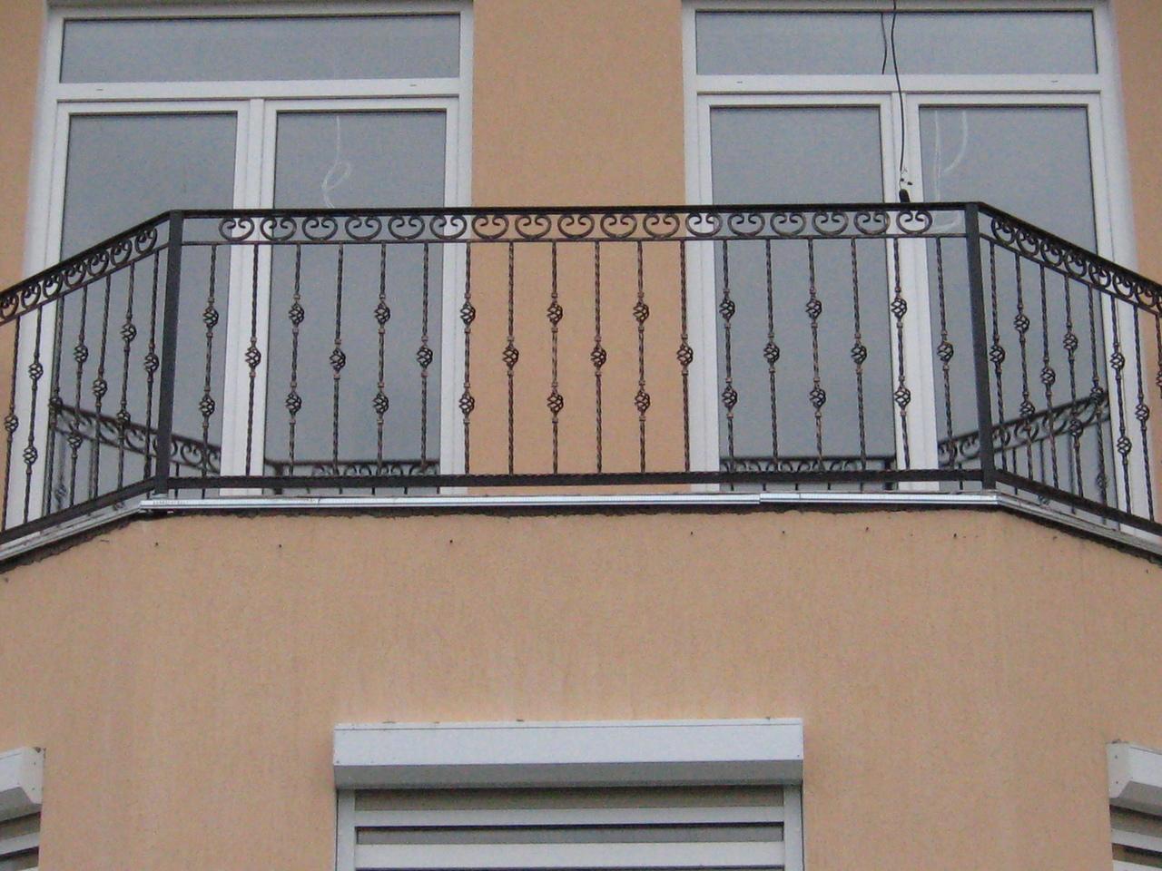 Металлическое ограждение балкона цена..