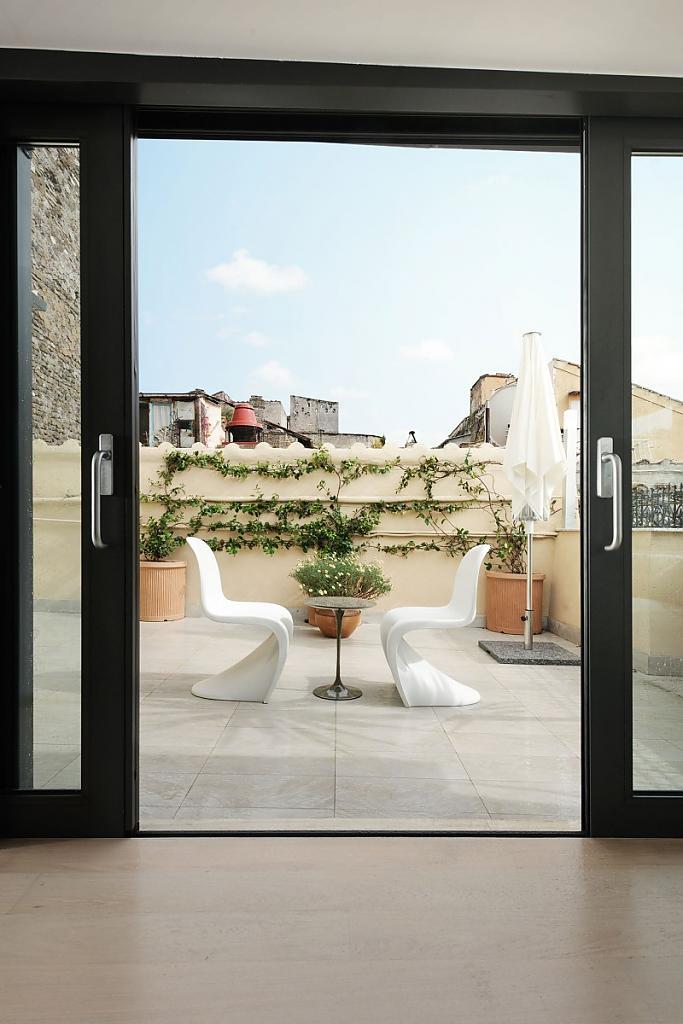 Балкон квартиры в Риме
