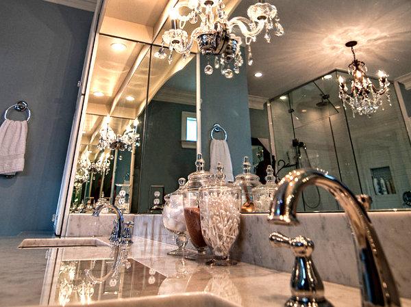 Люстры для ванной комнаты фото