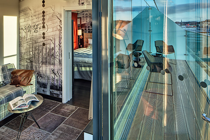Роскошный отель Radisson Blu Riverside в Гетеборге