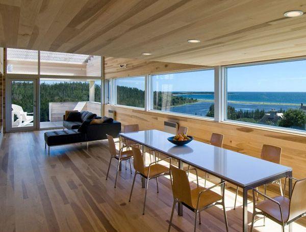 Проект дома на склоне холма: удивительная геометрия