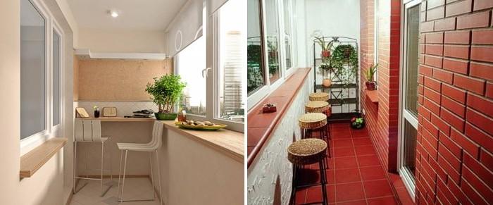 Балкон бар фото..