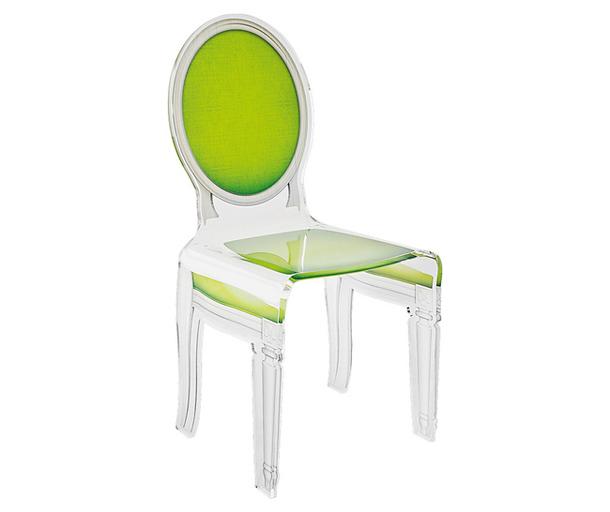 Зеркальный стул Acrila