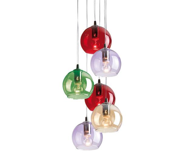 Cangini & Tucci прозрачные разноцветные лампы