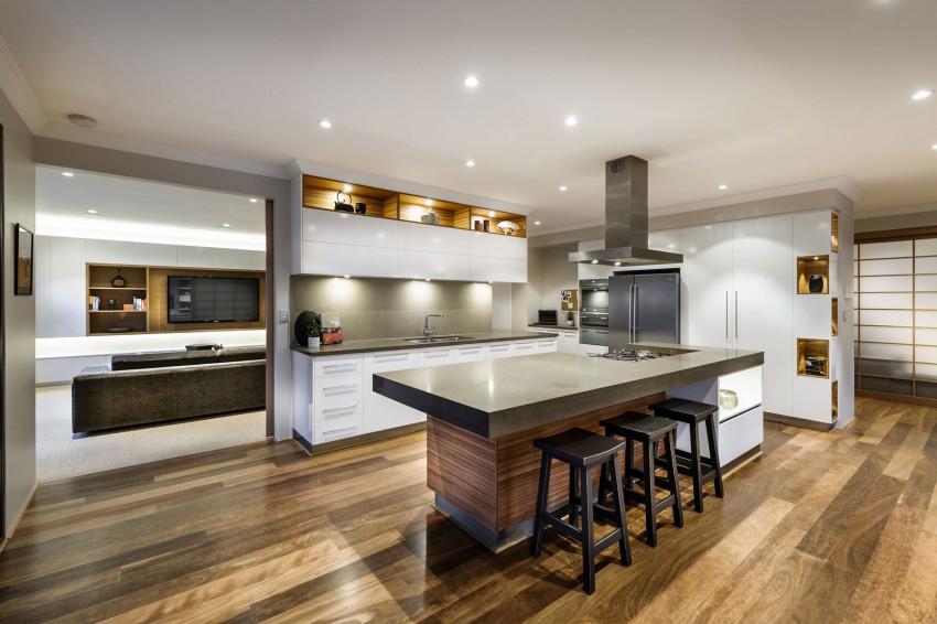 Лучшие интерьеры домов: австралийский дом в японском стиле
